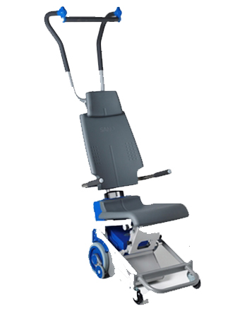 Standalone electric stair climber hire for the handicapped and disabled