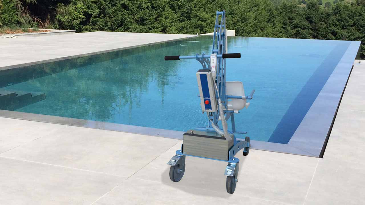 EcoPool portable pool lift hire