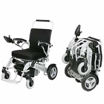 Electric wheelchair hire for the handicapped and disabled, Sorolla model