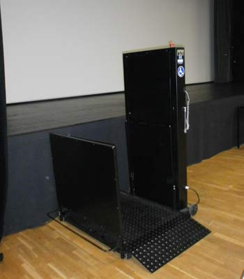 Elevator platform hire for the disabled and the handicapped - Professional solution