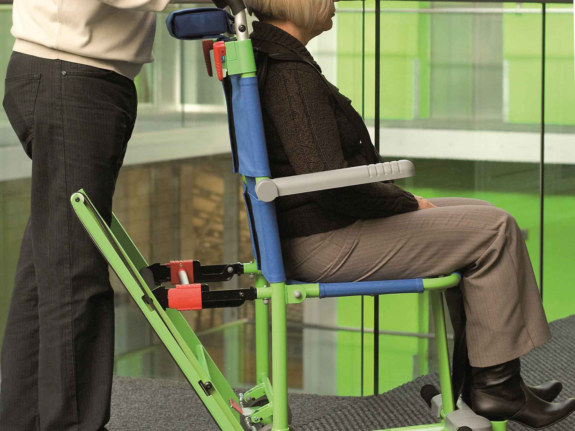 Disabled evacuation chair hire service