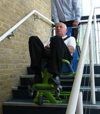 Excel evacuation chair hire for the disabled and the handicapped