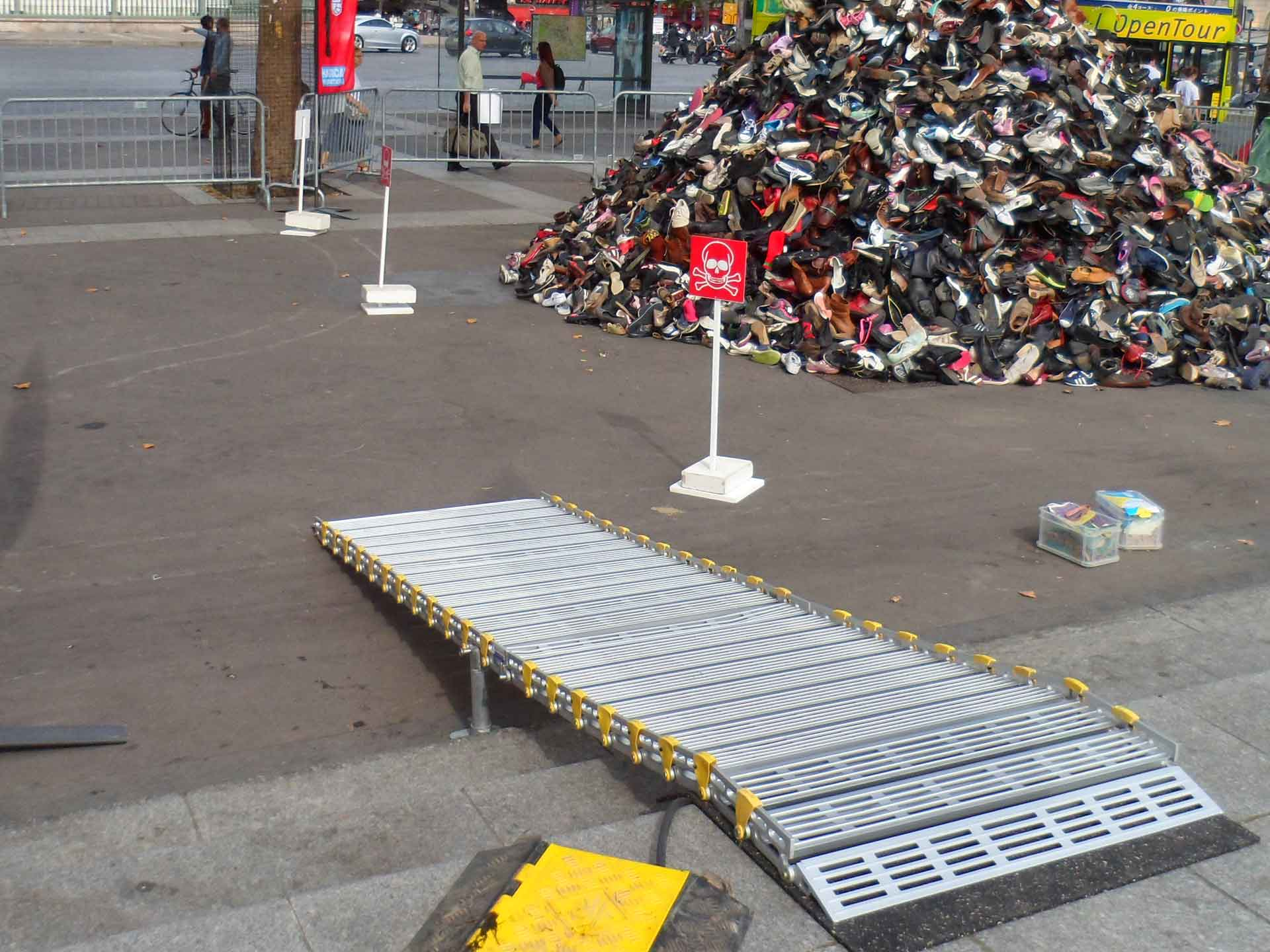 Hire - an aluminium access ramp for wheelchairs/scooters for the handicapped and disabled - event