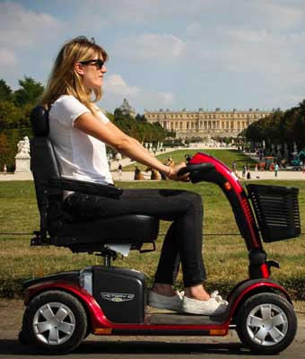 Hire electric scooter for disabled in Paris - France
