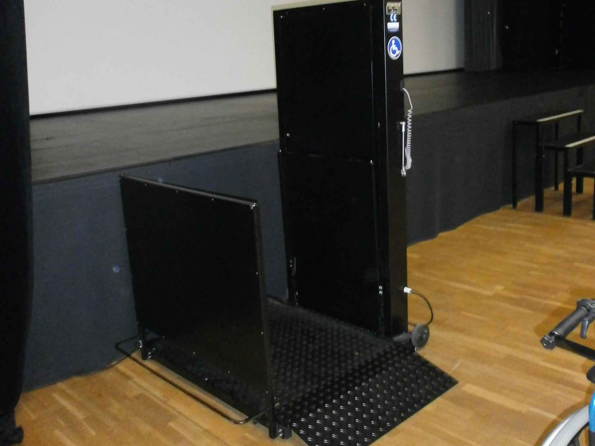Hire Orion electric elevator platforms for the disabled and the handicapped. Event access