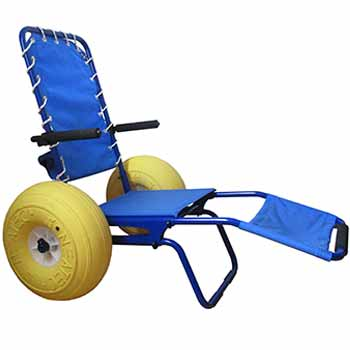 Swimming pool access chair hire - JOB Pool model - For the disabled and handicapped