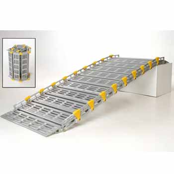 Hire a modular aluminium access ramp for the disabled