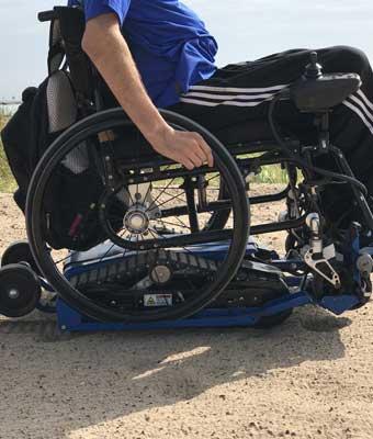 Rent motorized wheelchair trak, Freedom Trax