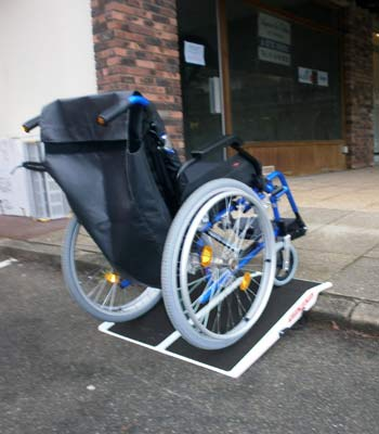 Travel access ramp hire for the disabled and handicapped